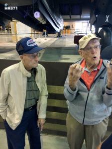 William Robertson & Don McTaggart var båda flygare under andra världskriget.